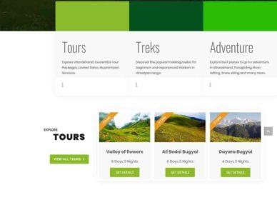 GoAdven Trekking Company Project